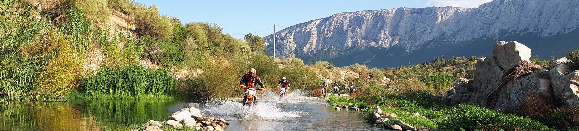 I migliori percorsi Enduro in Sardegna