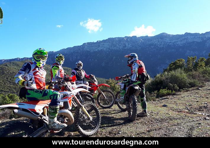 Momenti di Tour Enduro Sardegna Gennaio-Febbraio 2018