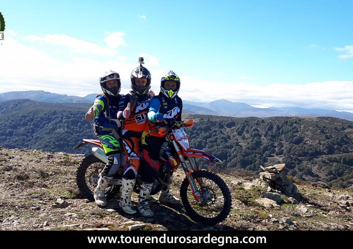 Moments of Tour Enduro Sardinia March 2018