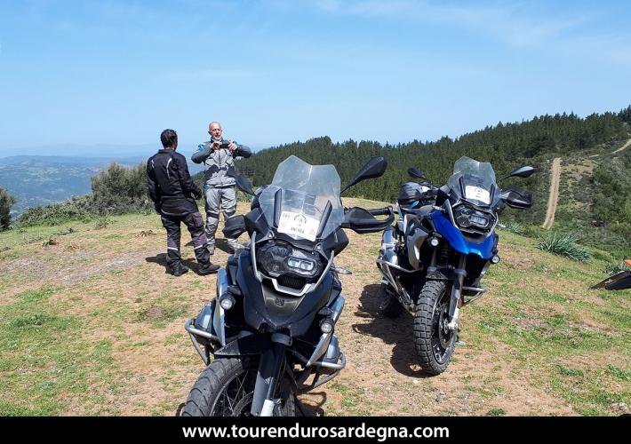 Itinerario Maxi Enduro Barbagia - Sardegna