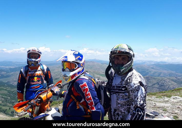 Gennagentu Enduro Tour, on the highest mountains of Sardinia