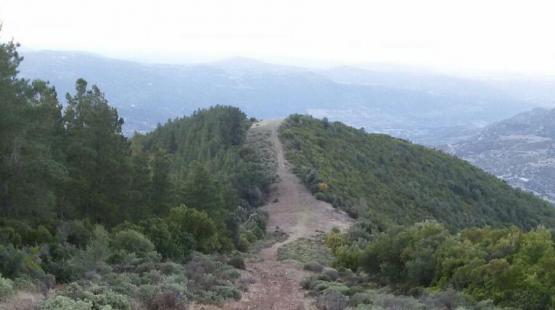 Giro Enduro delle fasce tagliafuoco in Sardegna, ad Orgosolo