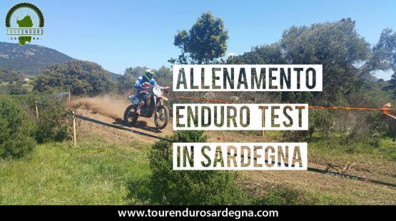 """Allenamento Enduro Test """"Linea"""" in Sardegna"""
