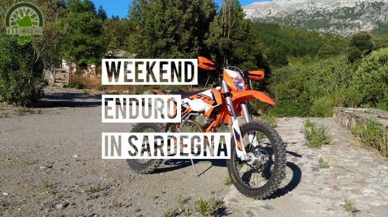 Enduro Dirtbike Tour Weekend in Sardinia