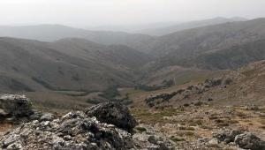Tour enduro in Sardegna, vista dalle cime del Gennargentu