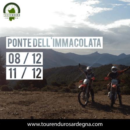 Tour Enduro ponte Immacolata 2016 in Sardegna
