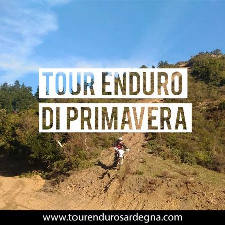 Tour Enduro in Sardegna di primavera 2017