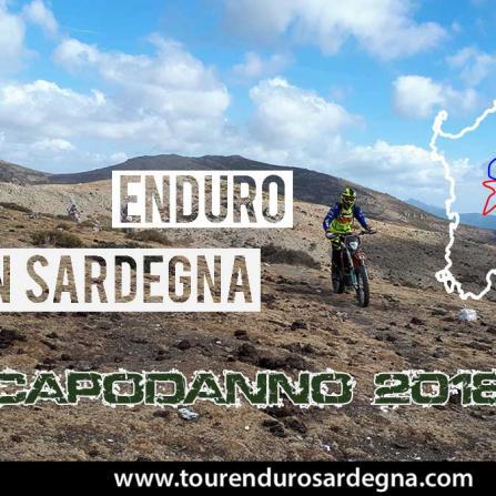 Tour Enduro Capodanno 2018 in Sardegna 4 giorni 3 notti