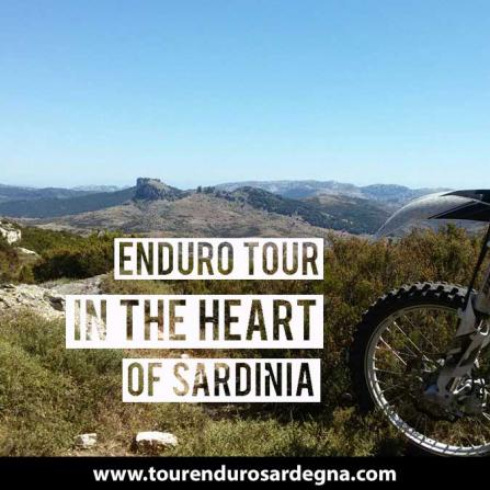 Enduro Tour 3 days of Enduro in the heart of Sardinia