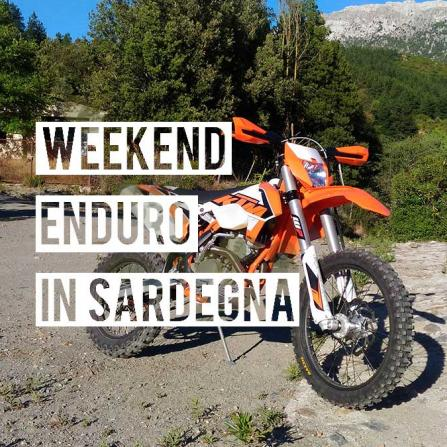 Enduro Dirtbike Tour Weekend in Sardinia