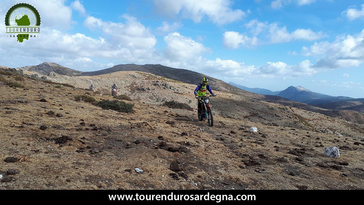 Itinerario enduro in Sardegna: il massiccio del Gennargentu