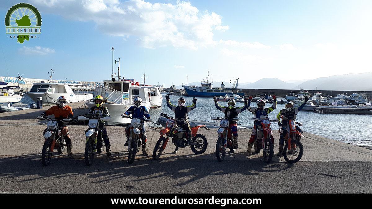 Enduro itinerary from the Barbagia mountains to the sea - Sardinia