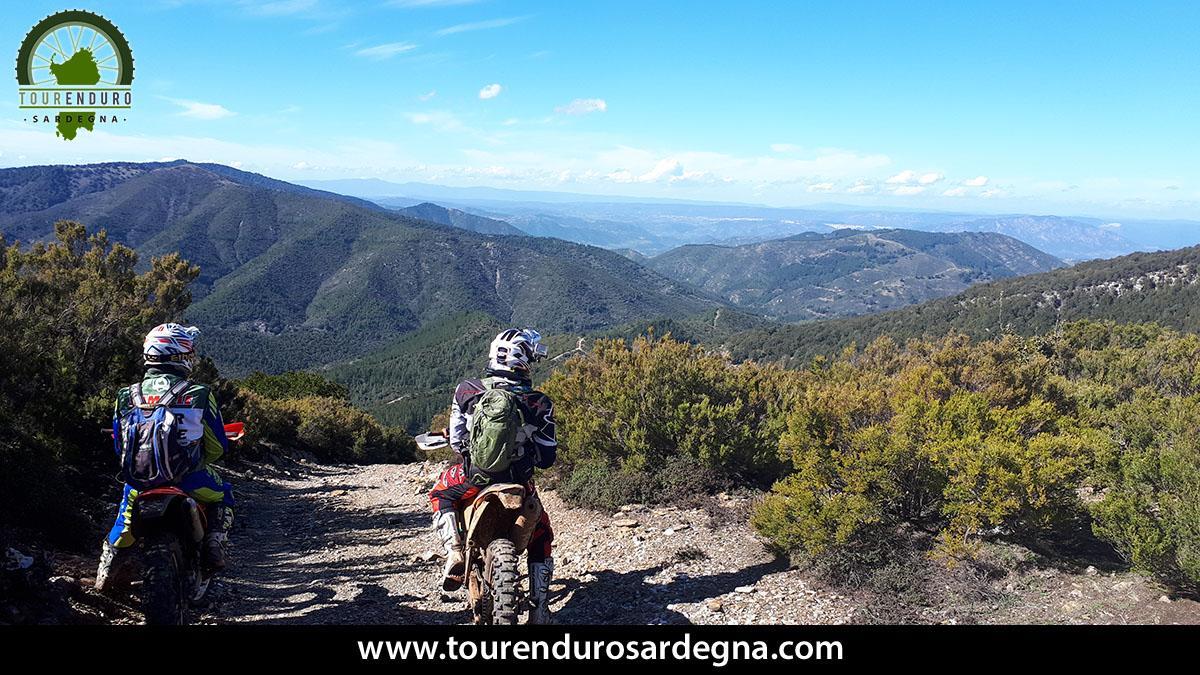 Moments of Tour Enduro Sardinia March 2018