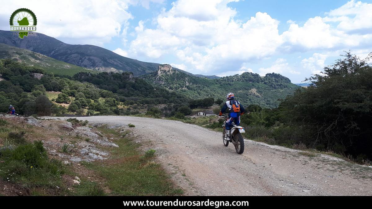 Gennagentu Enduro Tour, on the highest mountains of Sardinia