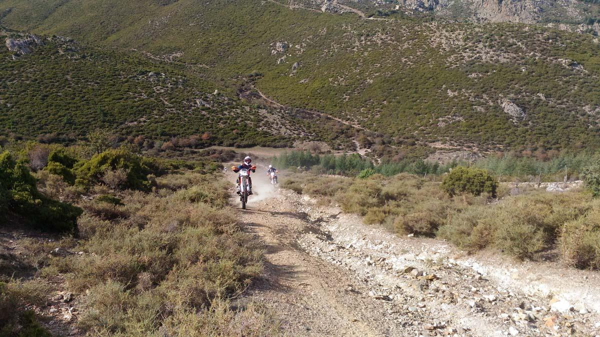 Tour Enduro Sardinia October 2016 with friends from Genoa