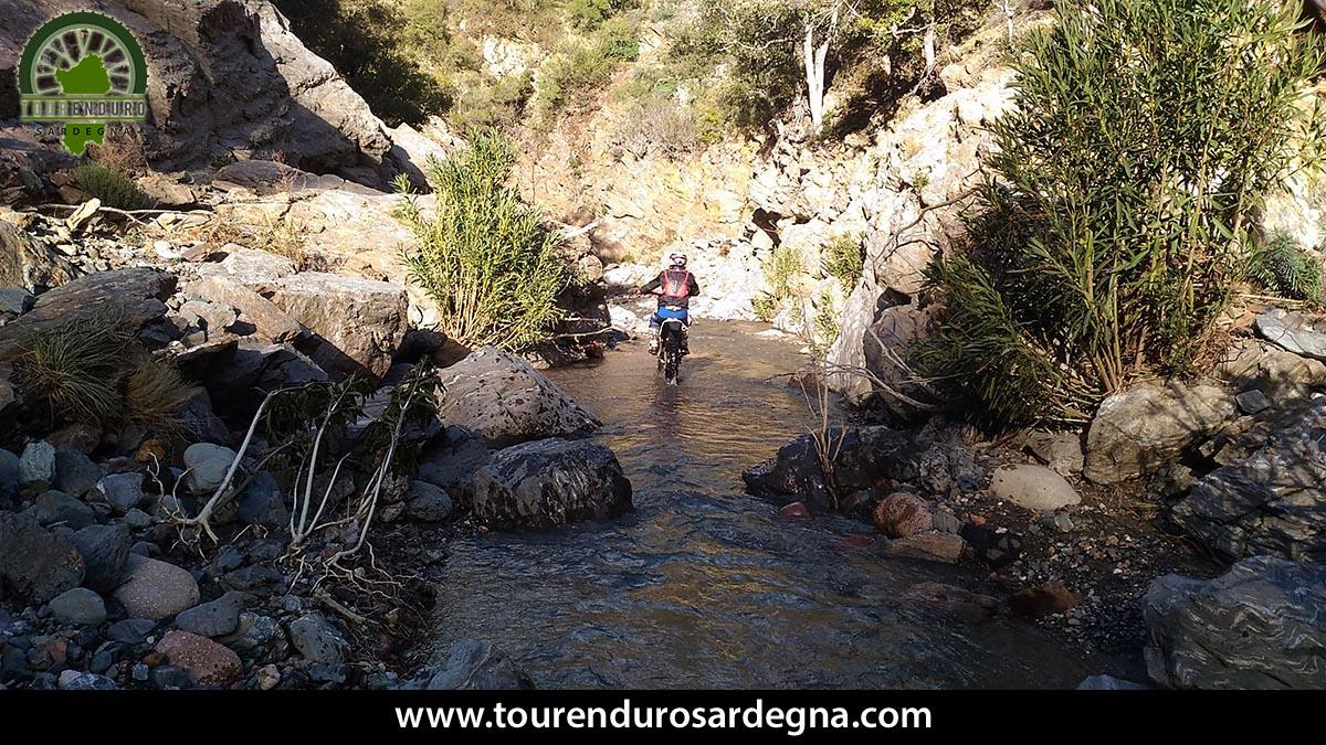 Extreme Enduro itinerary in the heart of Sardinia