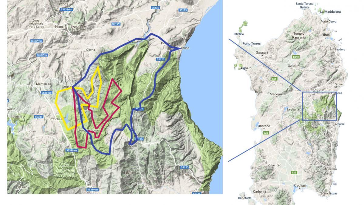 Cartina Sardegna 2017.Enduro Raid Della Barbagia