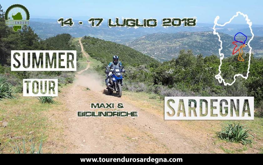 Summer Tour Enduro Sardegna Maxi e Bicilindriche Luglio 2018