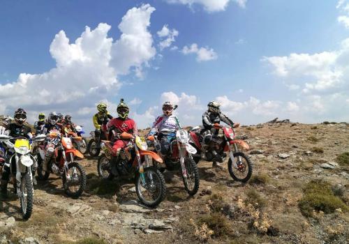 Tour Enduro Sardegna, verso il Gennargentu