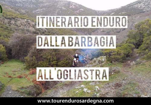 Percorso Enduro in Sardegna, dalla Barbagia all'Ogliastra