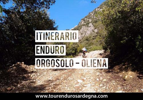Itinerario Enduro Tour Sardegna: anello Orgosolo Oliena