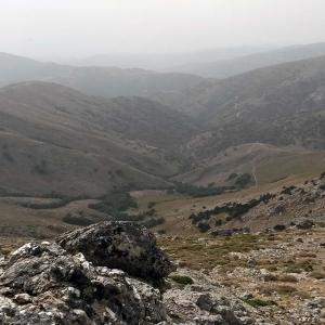 Paesaggio dal Gennargentu
