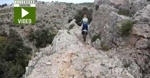 Anteprima Video riassunto del Tour Enduro della Barbagia, centro Sardegna