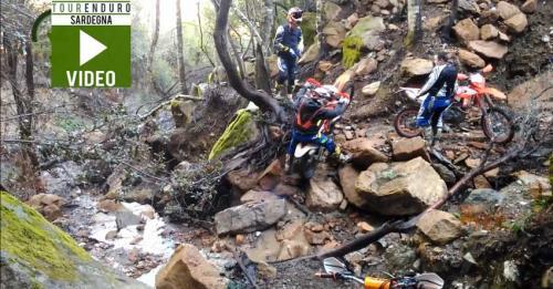 Anteprima Video: passaggi enduro impegnativi in Sardegna