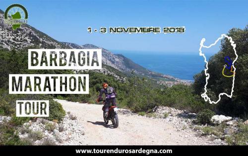 Barbagia Marathon Tour Novembre 2018 Sardegna