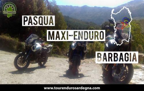 Tour Pasqua 2018 Maxi Enduro Sardegna Barbagia Orgosolo