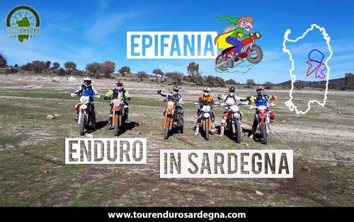 Tour Enduro Epifania Befana 2018 in Sardegna