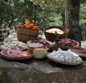 Il menu del pranzo con i Pastori