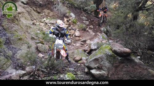 Itinerario Enduro Sardegna: anello Orgosolo Oliena, riscaldamento