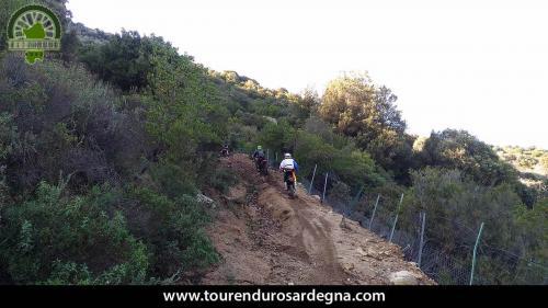 """Vecchio sentiero per carri, in località """"Sorasi"""", Orgosolo - Sardegna"""