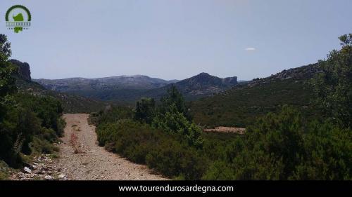 Sentiero nel territorio di Orgosolo, centro Sardegna