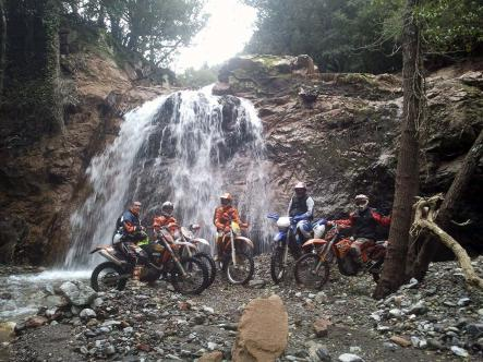 La cascata, 2° Giornata di Tour Enduro