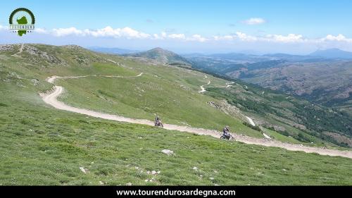 Breathtaking views across Sardinia from the peaks of Gennargentu