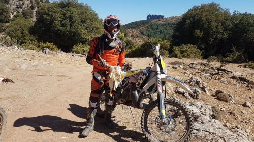 Day 3: enduro tour on The Supramonte of Orgosolo, once populated by bandits and outlaw.