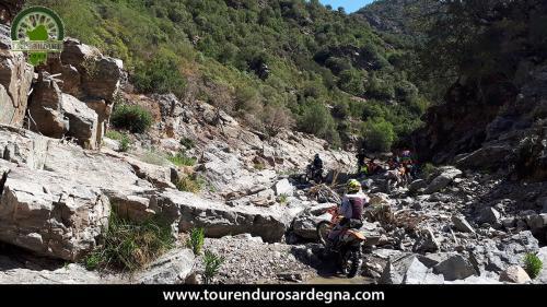 Scorcio del fiume, enduro hard estremo in Sardegna