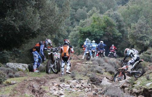 Giornata Hard Enduro in Sardegna